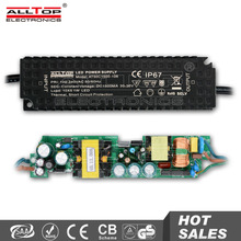 IP67 Waterproof constant current 1500ma 36V 50w led driver