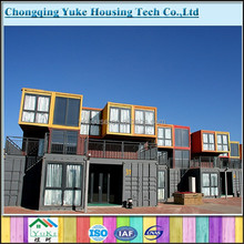 prefabricated hotel rooms by 40ft container house