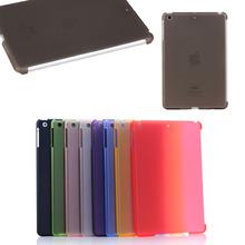 for ipad mini 1 2 3 case, Matte PC hard smart cover case for iPad mini 1 2 3