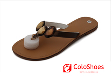 Coface Naked Flat Low No Heel Sandals