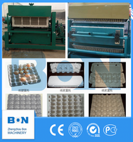 Paper Pulp Moulding Machine for making Egg Tray