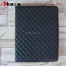 New arrival luxury folio leather case for ipad