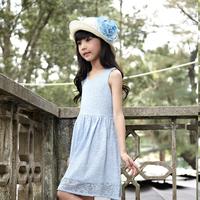 2015 new wholesale ruffle latest children dress designs for girls