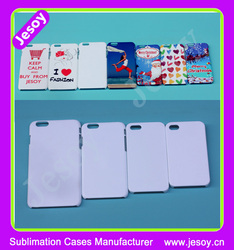 JESOY 3D Vacuum Heat Transfer White Blank Case For apple iphone 6 6s Cover Case Sublimation