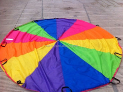 20 ft & 24 ft Parachute With Bag For Kids-PH19