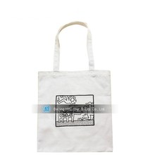 city name printed canvas bag