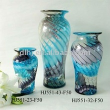 Phoenix Art Tall Glass Vase