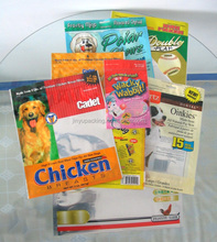 Little Animal Food Bag For Pet Food ,Selling Bag For Example Cat/ Dog/ Rabbit Plastic Food Bag