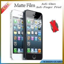 anti glare matte screen guard film/protector for iphone 5S/5C