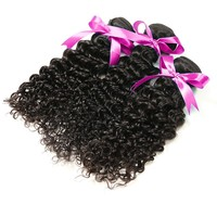 """Wholesale factory price 10"""" off black top quality grade 7A brazilian deep wave permanent hair extensions, buy virgin remy hair"""