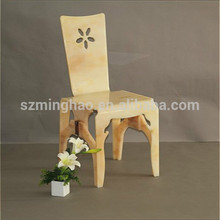 Wholesale new arrival elegant engraved acrylic ghost chair