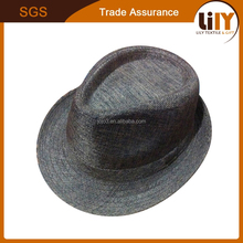 Wholesale China Factory 100% Wool Felt Short Brim Men Hats