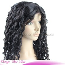 Remy Gray Body Wave Blonde Human Brazilian Hair Full Lace Wig