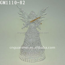 factory supplier hotsell fashion light changing angel figurine wholesale