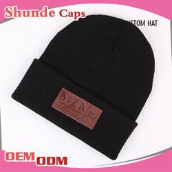 Winter Knitted Hat Cap Winter Knitted Black Ski Mask Hat Knitting Pattern