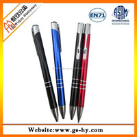Metal body ballpoint pens for gifts