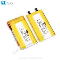 China supplier shenzhen factory OEM rechargeable battery 3.7v 250mah 402025 for rc li polymer small helicopter,GPS,MP3,MP4 etc