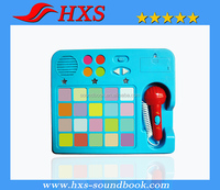 2015 Hot Selling WAholesale Music Plastic Toy for kids to have a easy study