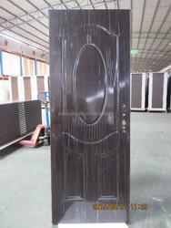 residential steel door, interior 6 panel steel door, galvanized steel american door