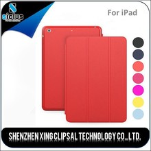Wholesale Best Quality Low Cheap Price Red Color PU Leather Case for ipad mini