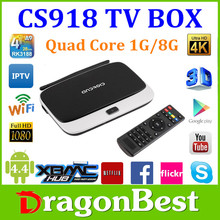 Quad Core Android TV Box HD Cs918 Smart Android 4.2 China Agent Android Tv Box Sex Digital Picture Frame Video Free Download