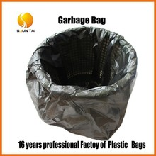 China manufacturer HDPE cheap grocery garbage bin plastic bag