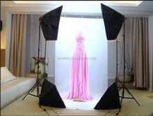 2015 lovefoto nuova luce stand soft box 4 pezzi 50*70cm fotografia di prodotti kit