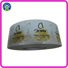 Printing Adhesive Private Sticker , Custom Body Butter Labels
