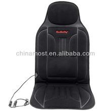 CarSetCity Carbon Fiber Smart Electric Heated Car Seat Cover Black