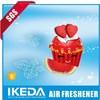 Hanging car air freshener/make hanging paper car air freshener/bulk car air fresheners
