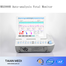 MD2000B Computer Auto Analysis Fetal Monitor During Labor With A Workstation