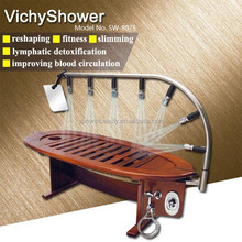 Wooden Vich Shower spa machine&Water massage promote blood circulation