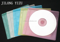 JILONG YIZU Clear Plastic PP+Non-woven CD DVD Cover