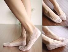 2015 HOT comfortable non-slip silicone lace ship socks