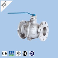 china valve high quality acid resistant 300lb API WCB floating flanged high temp ball valve dn150