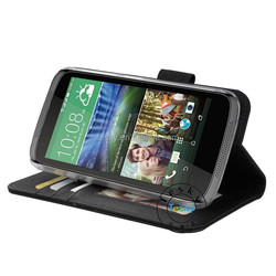 for htc desire 526g+ wallet pu leather case stand cover case cellphone case