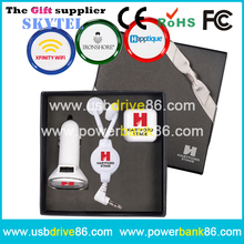 Personalized Mobile Charging Kit Promotion Giveaways Gift Items Low Cost for Company Christmas,Business,Corporate,Clients