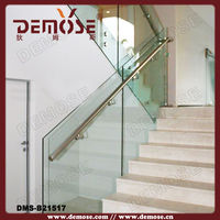 chrome handrails for interior stairs