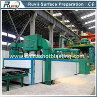 Roller Conveyor Type Sand Blasting for Steel Sheet