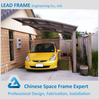 Prefab New Design Metal Awning for Car Shed