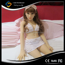 Newest style 125CM Inflatable Adult Full Silicone Sex Dolls Full Skeleton Silicone
