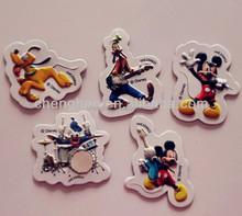the cheapest custom cartoon kids 3d pvc embossed fridge magnet for promotional gifts