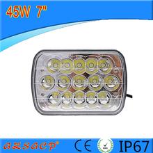 "IP67 passed super bright 7"" 45w led work light good price led light auto tuning"