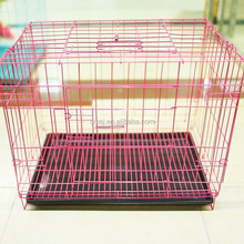 2015 hot sale foldable large dog cage stainless steel dog cage pet cage