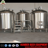 Full Set Stainless Steel Pub Bar Beer Brewing Equipment for Vietnam Client