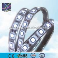 white PCB led stripe 5m/roll from shenzhen led lighting factory