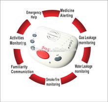 GSM home alarm panel,Emergency call alarm unit,elderly & child & disabled remote monitoring medical alert FDL-A10