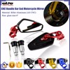 BJ-RM-061B New Arrival Aluminum Handle Bar End CNC Motorcycle Side Mirror