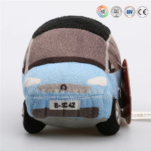 ICTI Factory top quality cute promotional plush baby toy car