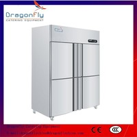 4 Door Stainless Steel Commercial Cooler with CE